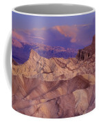 Clearing Sunrise Storm Zabriske Point Death Valley National Park California Coffee Mug
