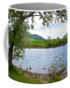 Clearwater River In Nez Perce National Historical Park-id  Coffee Mug