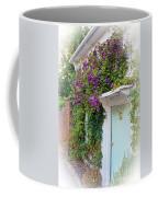 Clematis Around The Door Coffee Mug