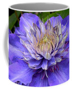 Clematis Blue Coffee Mug