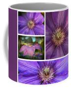 Clematis Collage Coffee Mug