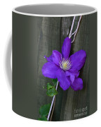 Clematis On A String Coffee Mug