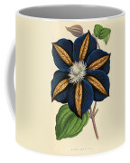 Clematis Star Of India Coffee Mug