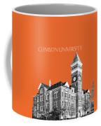 Clemson University - Coral Coffee Mug