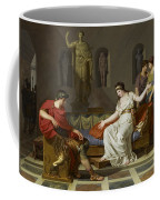 Cleopatra And Octavian Coffee Mug