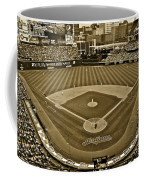 Cleveland Baseball In Sepia Coffee Mug