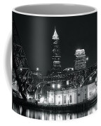 Cleveland Black Night Coffee Mug