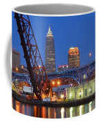 Cleveland Blue Hour Panoramic Coffee Mug