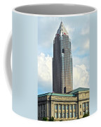 Cleveland Key Bank Building Coffee Mug by Frozen in Time Fine Art Photography