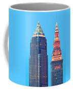 Clevelands Iconic Towers Coffee Mug