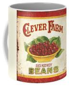 Clever Farms Beans Coffee Mug by Debbie DeWitt