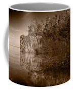 Cliff Face Northshore Mn Bw Coffee Mug