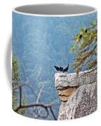 Cliff Hanging Coffee Mug