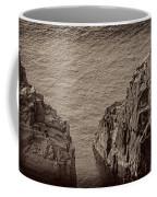 Cliffs At Bonavista Coffee Mug