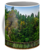 Cliffs High Above Road Coffee Mug