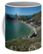 Cliffs In Bretagne Coffee Mug