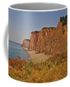 Cliffs Of Cape D'or From A Promontory Over Advocate Bay-ns Coffee Mug
