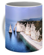 Cliffs Of Etretat 1 Coffee Mug