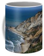 Cliffs Of Gay Head At Aquinnah Coffee Mug