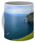 Cliffs Of Moher Looking North Coffee Mug
