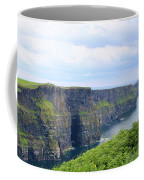 Cliffs Of Moher Panorama 3 Coffee Mug