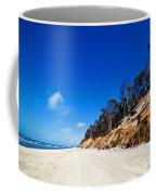 Cliffs On A Sunny Beach Coffee Mug