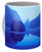Cliffs On The Coast At Dawn, Meyers Coffee Mug