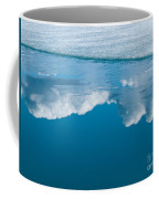 Climate Change Blue Arctic Water Reflected Clouds Coffee Mug