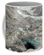 Climate Change Melting Glacier Ice And Sheer Rock Coffee Mug