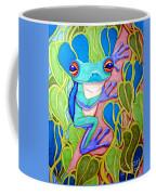 Climbing Tree Frog Coffee Mug