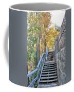 Climing Into Autumn Coffee Mug