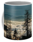 Clingman's Dome Sea Of Clouds - Smoky Mountains Coffee Mug
