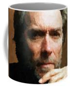 Clint Eastwood Portrait Coffee Mug
