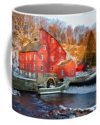 Clinton Mill In Winter Coffee Mug