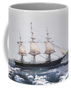 Clipper Ship Red Jacket In The Ice Off Cape Horn On Her Passage From Australia To Liverpool Coffee Mug