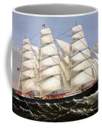 Clipper Ship Three Brothers Coffee Mug by War Is Hell Store