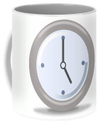 Clock Five Coffee Mug