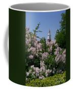 Clock Tower And Lilacs Coffee Mug