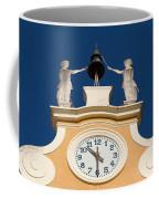 Clock Tower In Bardolino Coffee Mug