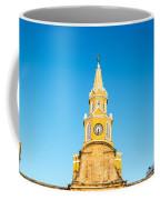 Clock Tower Of Cartagena Coffee Mug
