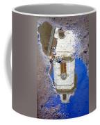 Clock Tower Reflected Coffee Mug