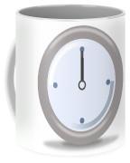 Clock Twelve Coffee Mug