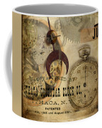 Clockworks Coffee Mug by Fran Riley