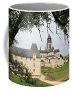Cloister Fontevraud View - France Coffee Mug