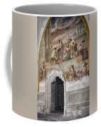 Cloister Fresco Coffee Mug by Joan Carroll