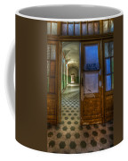 Close The Door Coffee Mug
