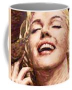 Close Up Beautifully Happy Coffee Mug