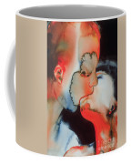 Close Up Kiss Coffee Mug