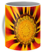 Close Up Marigold Coffee Mug