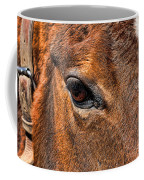 Close Up Of A Horse Eye Coffee Mug by Paul Ward